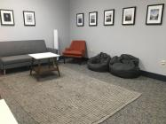 Quiet Space and Gallery for High School library